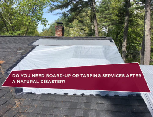 Do You Need Board-Up Or Tarping Services After A Natural Disaster?